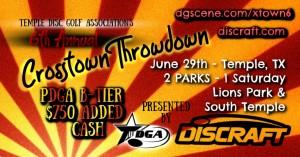 6th Annual Crosstown Throwdown graphic