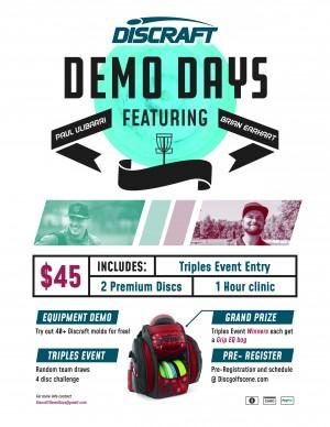 Discraft Demo Day - Shady Oaks graphic