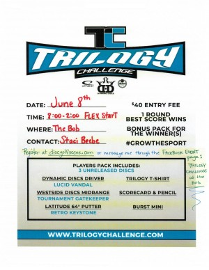 Trilogy Challenge at the BoB graphic