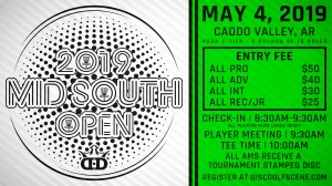 2019 Mid South Open Sponsored by Dynamic Discs graphic