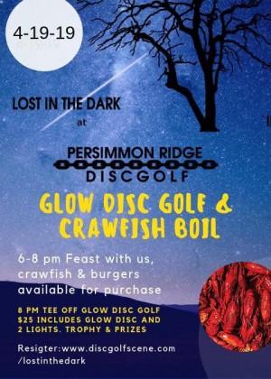 Persimmon Ridge Disc Golf Presents: Lost In The Dark graphic