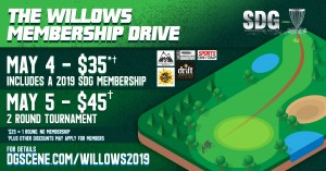 Willows SDG Membership Drive Event graphic