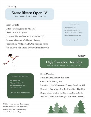 Ugly Sweater Doubles II graphic