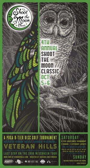4th Annual Shoot the Moon Classic /// Driven by Innova graphic