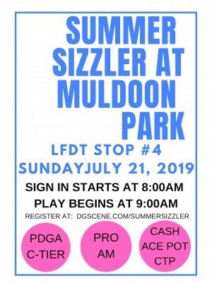 Summer Sizzler @ Muldoon graphic