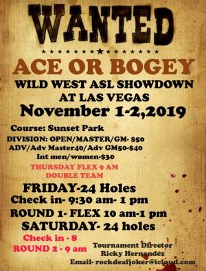 Wild West ASL Showdown 3 graphic