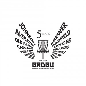 Grand Rapids Disc Golfers United Club Championship graphic