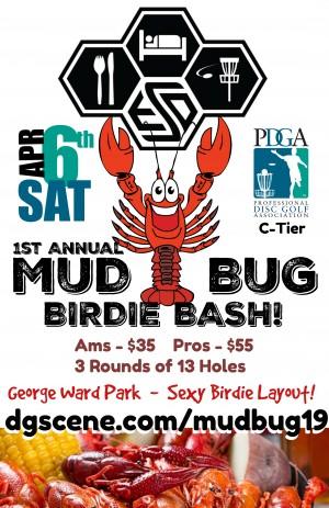 1st Annual Mud Bug Birdie Bash graphic