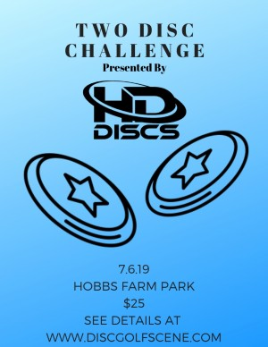 2 Disc Challenge at Hobbs Farm - Presented by HD DISCS graphic