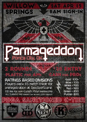 Parmageddon Ponca City graphic