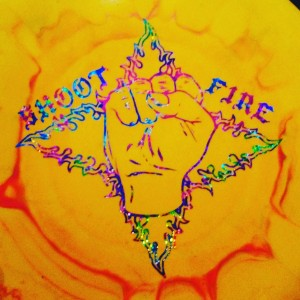 Shoot Fire at Freeman  Fueled by Gateway Disc Sports graphic