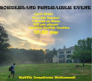 Borderland Pavers Fundraising Event  - 1 Round Doubles Basket Doubles (PRO/AM Mashup) graphic