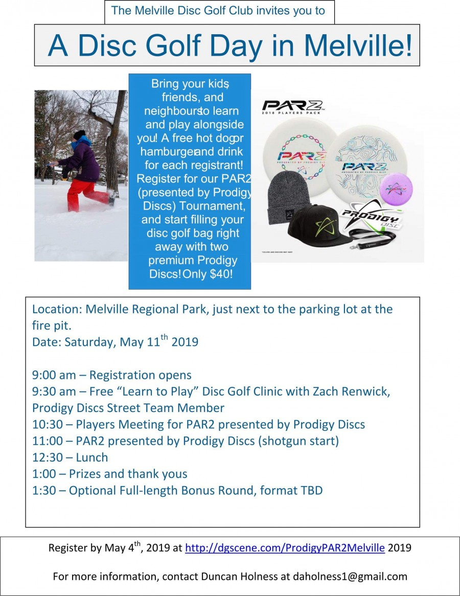 PAR2 Presented by Prodigy Discs @ Melville Regional Park