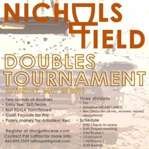 Nichols Field Doubles Tournament graphic