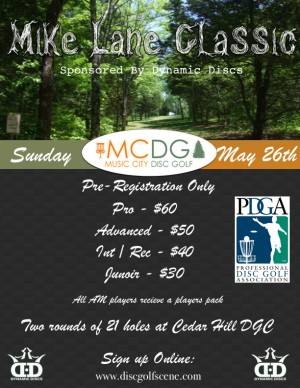 2019 Mike Lane Classic Sponsored by Dynamic Discs graphic