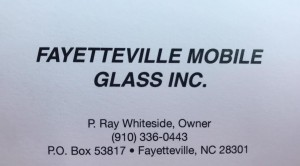Fayetteville Mobile Glass Copperhead Fund Raiser Flex Start graphic