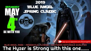 2019 Blue Angel Spring Classic graphic