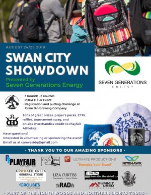 Swan City Showdown Presented By Seven Generations Energy graphic