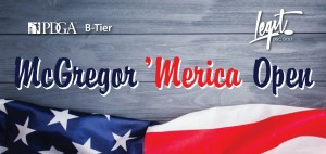 McGregor 'Merica Open presented by Legit Disc Golf graphic