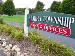Almira Township Park DGC Fundraiser graphic