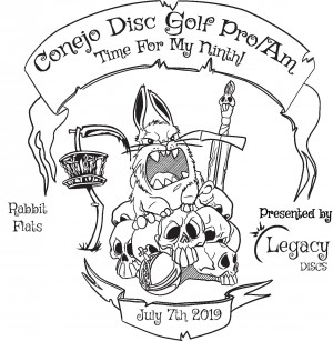 Conejo Disc Golf Pro/Am presented by Legacy Discs graphic
