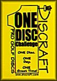 One-Disc Challenge graphic