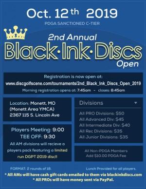 2nd Black Ink Discs Open graphic