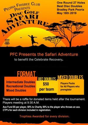 Disc Golf Safari Adventure graphic