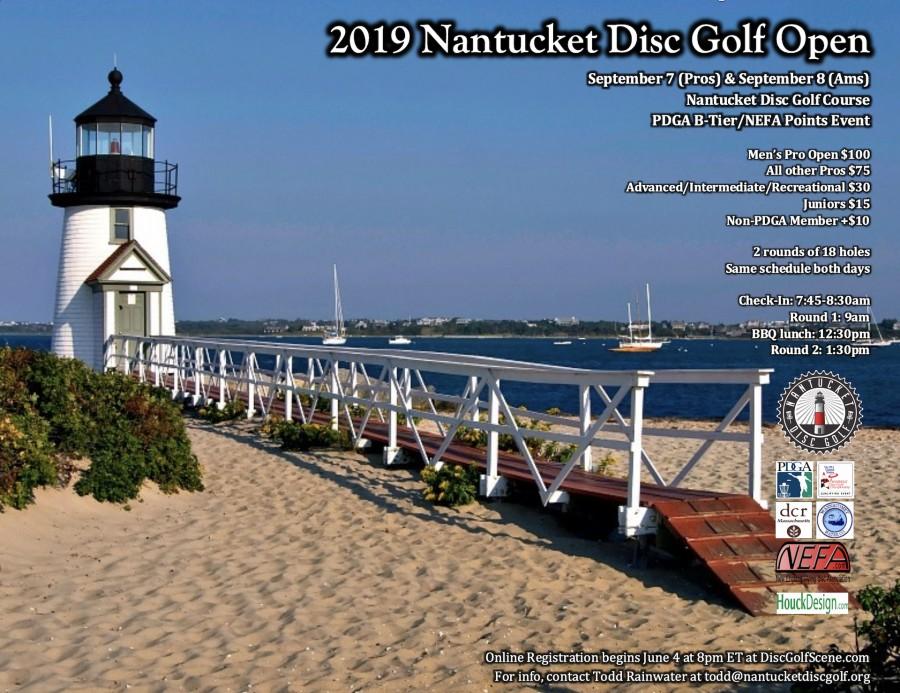 2019 Nantucket Disc Golf Open (Ams) (2019, Nantucket Disc