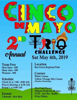 2nd Cinco de Mayo Trio Challenge graphic