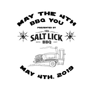 May the 4th BBQ You presented by Discraft and Salt Lick Barbeque graphic