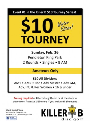 Killer B $10 Tourney - Winter Edition graphic