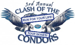Clash of the Condors RUN FOR YOUR LIFE! graphic