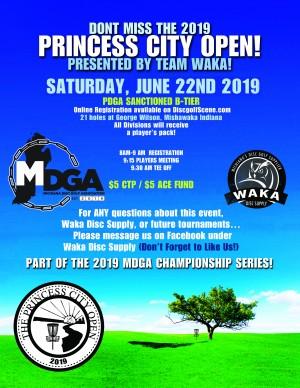 Princess City Open 2019 graphic