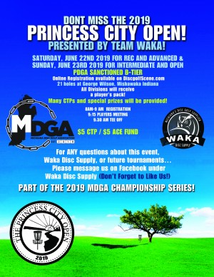 Princess City Open Int/Open graphic