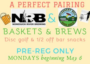 BASKETS & BREWS (Weekly League, not Tournament) graphic