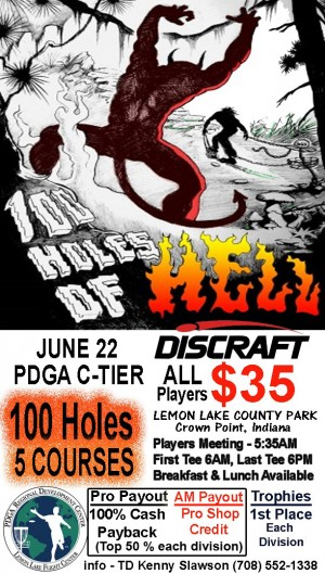 100 Holes of Hell graphic