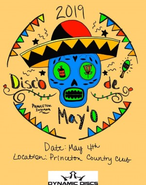 Disco De Mayo Presented by Dynamic Discs graphic