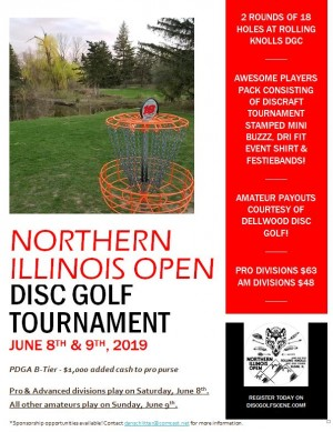 The Northern Illinois Open - All other Amateurs graphic