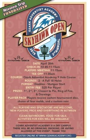 2nd Annual Skyhawk Open graphic