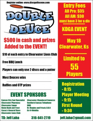 Clearwater Double Deuce graphic