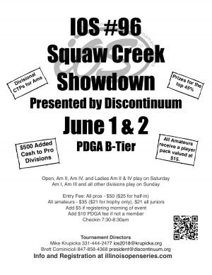 IOS #96 Squaw Creek Showdown Presented by Discontinuum - MPO/MA2/MA4/FA2/FA4 graphic