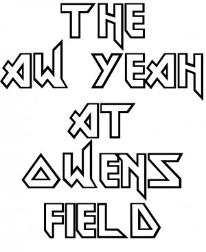 The AW YEAH at Owens Field graphic