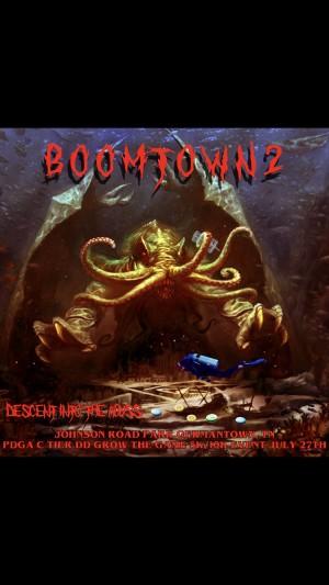 2nd annual Boomtown Throwdown graphic