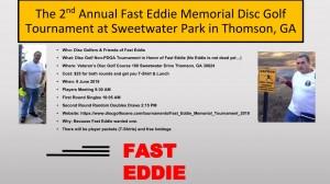 Fast Eddie Memorial Tournament II graphic