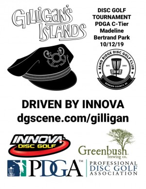 Gilligan's Islands Driven By Innova graphic
