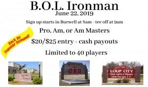 B.O.L. Ironman graphic