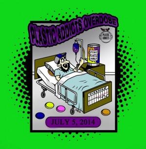 Plastic Addicts Overdose! graphic