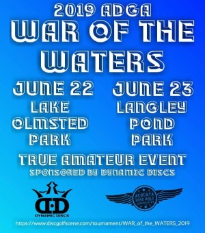 WAR of the WATERS Sponsored by Dynamic Discs graphic