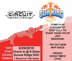 Sun King presents MVP Circuit Challenge (Sunset Ridge) graphic